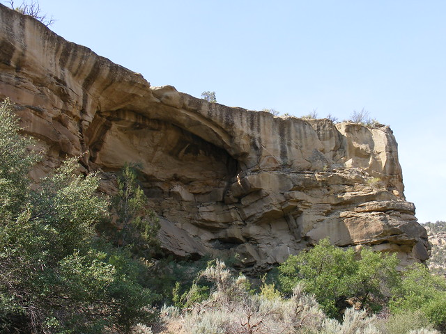 New Mexico Natural Arch NM-382 Martin Canyon Arch