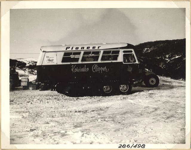 Ansair snow dipper [Pioneer Kosciusko Clipper] at Smiggin Holes