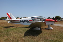 F-GTPD Robin DR400-140B on 12 July 2013