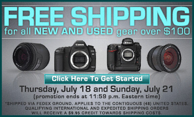 Free Shipping July 18-21, 2013