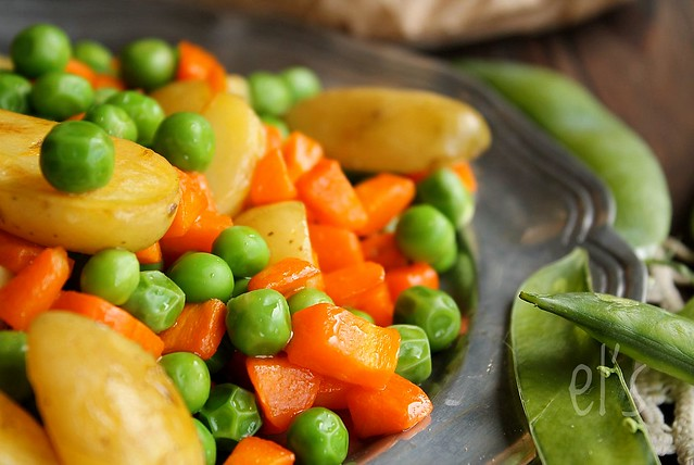 Petits pois carotte et pommes de terre aime mange - Variete de petit pois ...