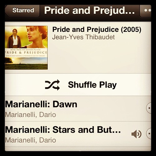 More good stuff. #love #prideandprejudice #music