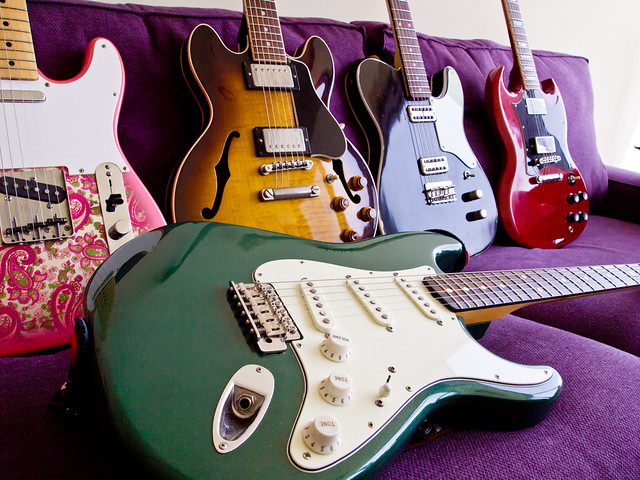 Strat with friends