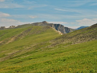 On Continental Divide, Looking Towards Devil's Thumb Pass
