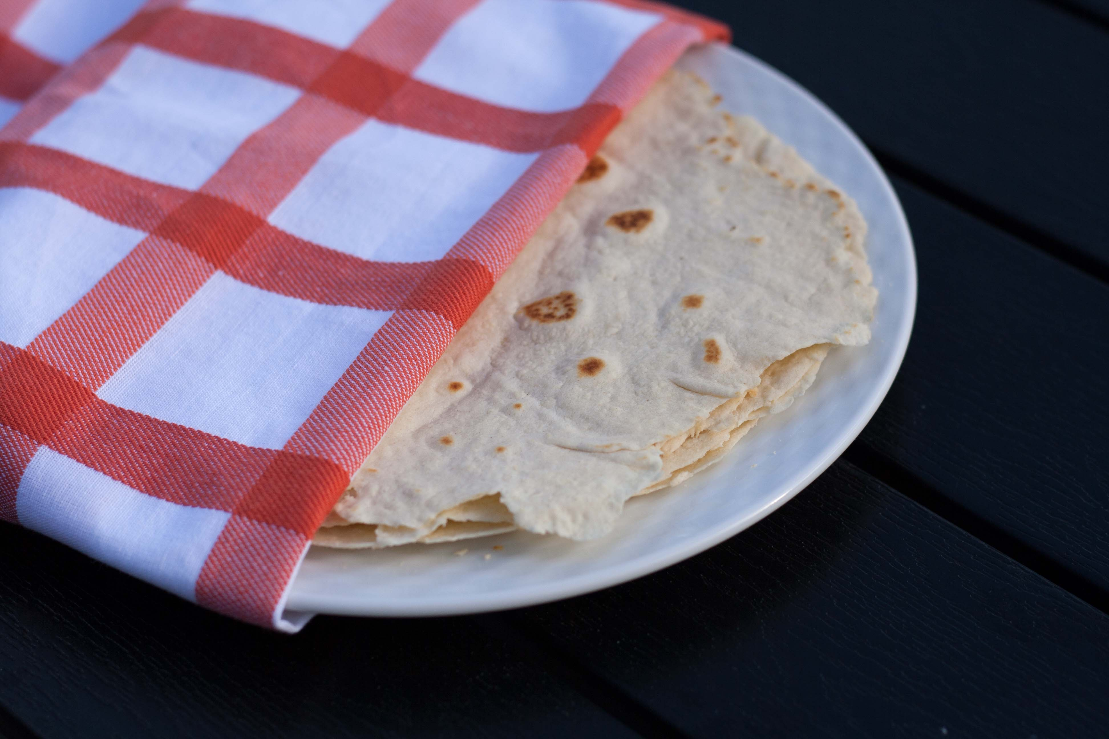 hjemmelavet tortilla wraps