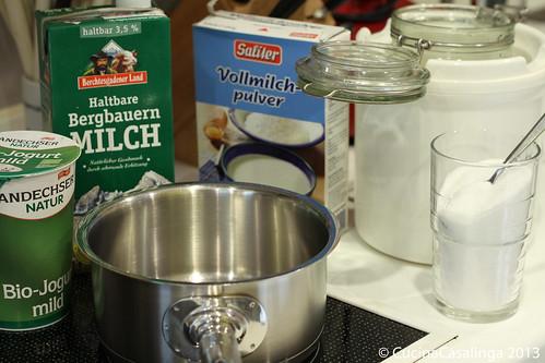 Joghurt Zutaten