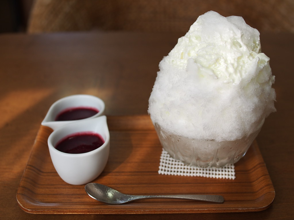 Japanese Ice Shaved | Yogurt Condensed Milk & Berry Berry