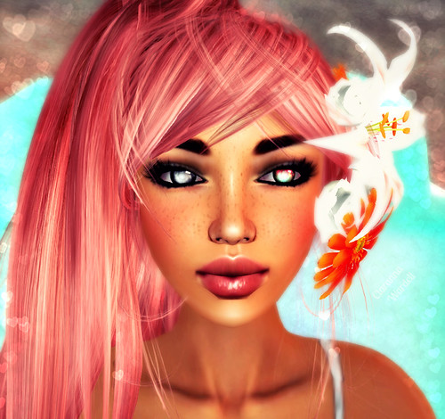 Hot Stuff Mariela Darktan GG + Diva LB & GG Hair