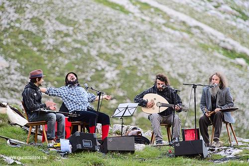 Dolomites - Val di Fassa - Vinicio Capossela at Vajolet 13