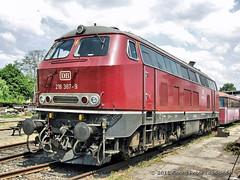 Darmstadt-Kranichstein - Bahnwelttage - 218 387-9_1651_2011-06-04