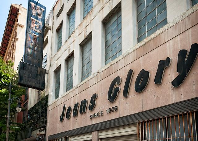 Weil's Fur & Jeans Glory signs, 1917 3rd Ave N, Birmingham, AL, USA