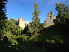 Kildrummy Castle from the Gardens