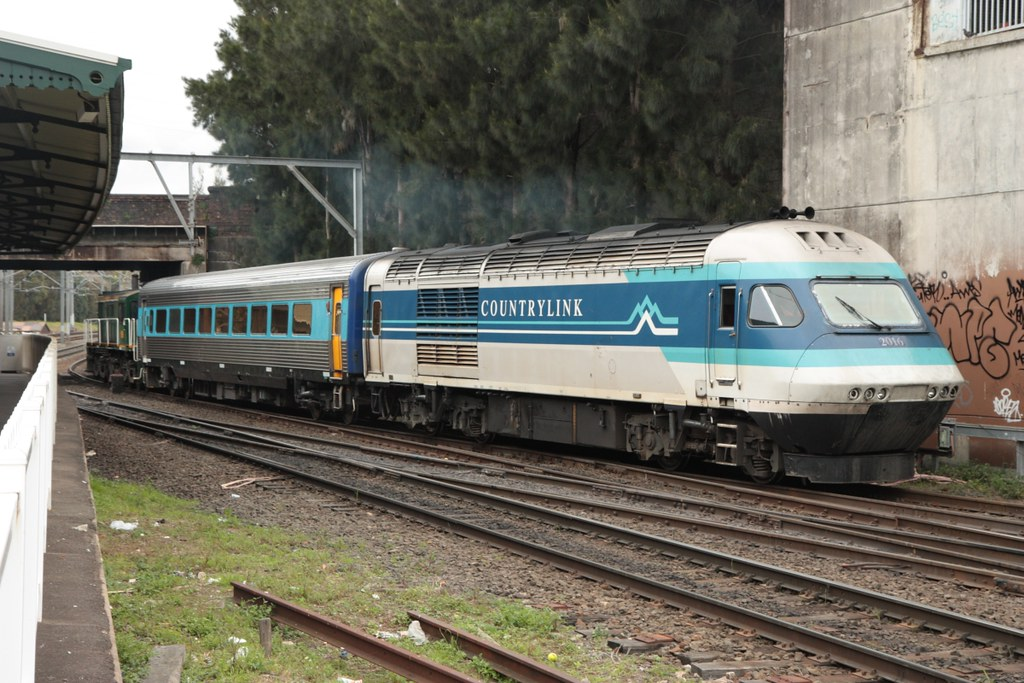 XPT2016 at Marrickville, 23.8.2010 by John Ray