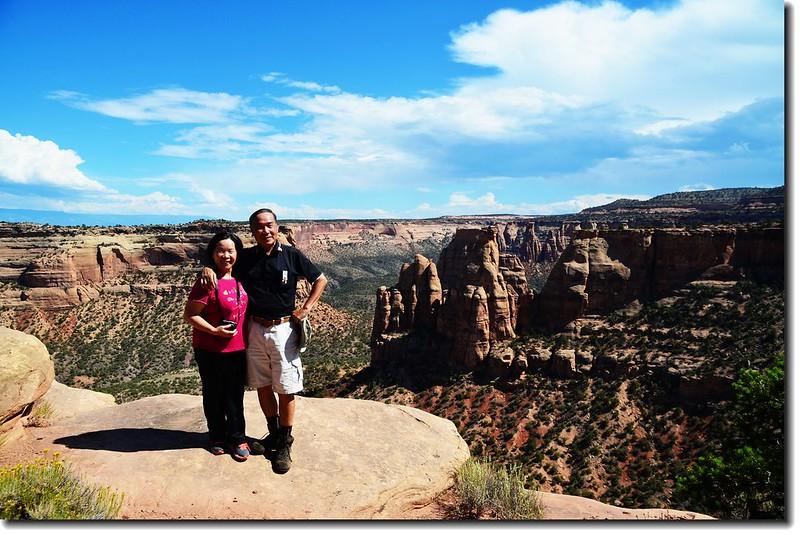 Taken from Canyon Rim Trail 13