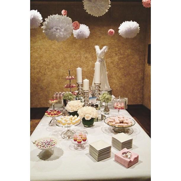 Blush Bridal Shower Decorations