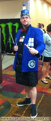 Male TARDIS Cosplay - Gen Con 2013