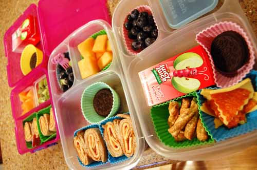 Lunch with the girls - Easy Lunch Boxes & Sistema Lunch Cube