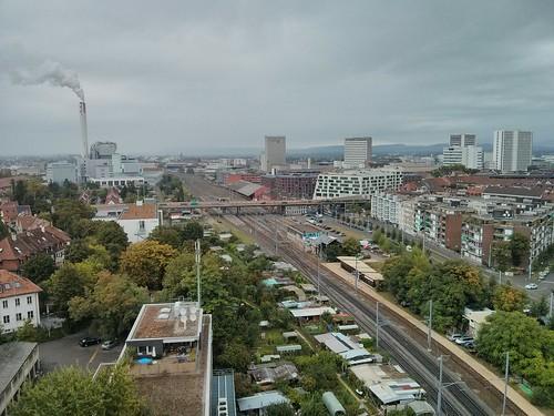 Dachterrasse Entenweidstrasse 4 Basel