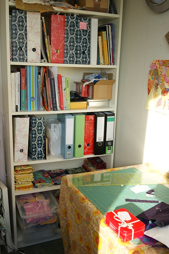 My reorganised sewing space