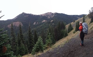 Mount Clifty over Windy Pass