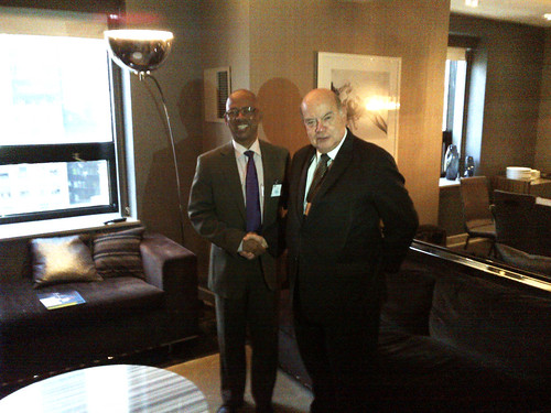 OAS Secretary General Meets with the Foreign Minister of Suriname