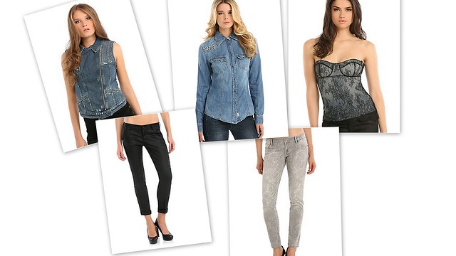 Guess Denim Collection 2013 fall winter autunno inverno