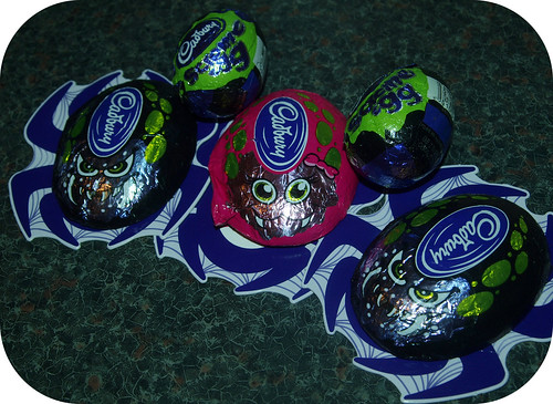 Cadburys Halloween Screme Egg/Crunchy Spider