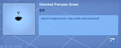 Haunted Pampas Grass