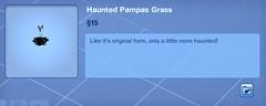 Haunted Pampas Grass