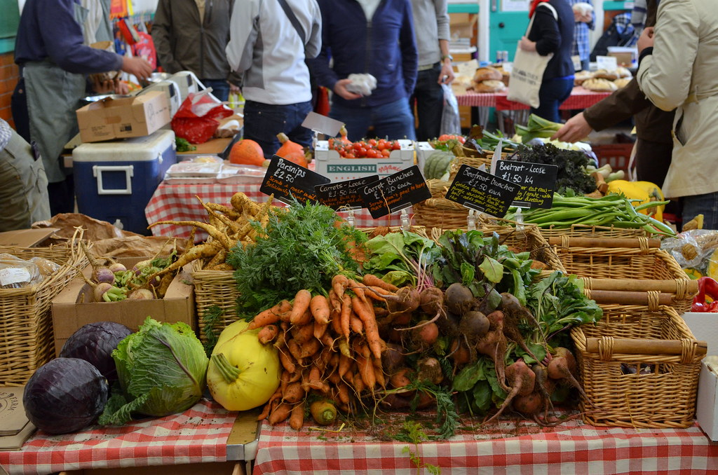 The Sandy Lane Farm stall looked amazing - a true ode to autumn