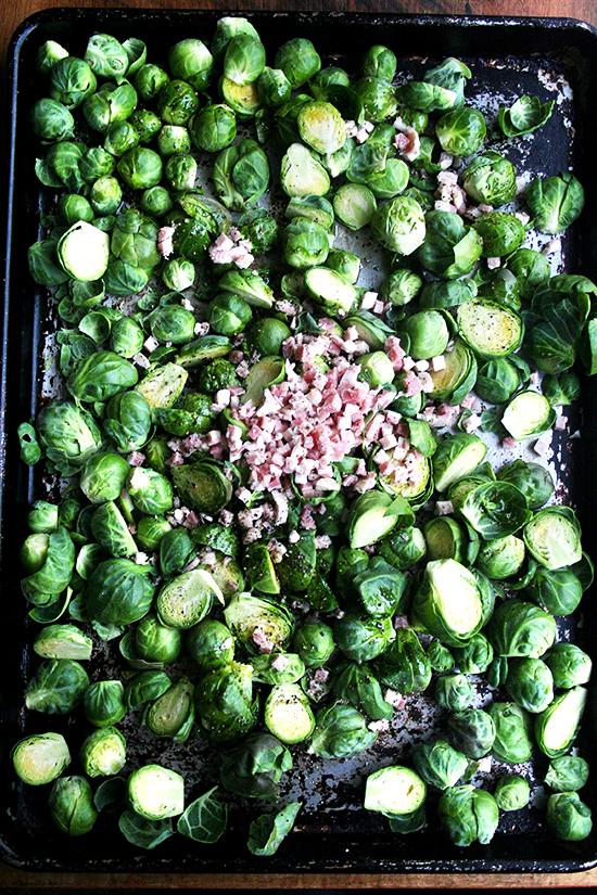 Ina garten 39 s balsamic brussels sprouts philadelphia for Ina garten mustard fish