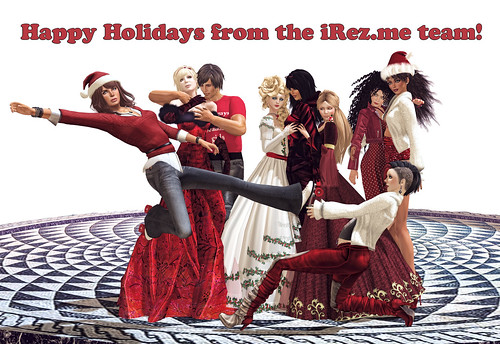 Happy Holidays from the iRez.me team!