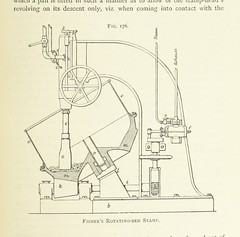 """British Library digitised image from page 499 of """"Practical Gold-Mining: a comprehensive treatise on ... gold-bearing gravels, rocks and ores, and the methods by which the gold is extracted ... With ... plates, etc [With a bibliography.]"""""""