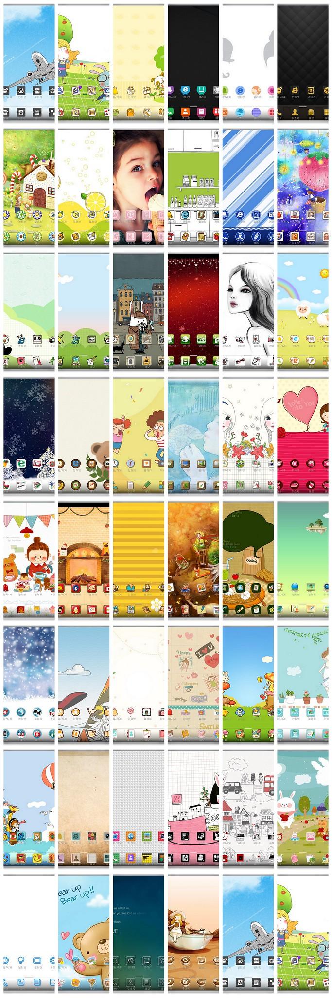 LG SmartWorld 韓國免費主題下載 (帶預覽圖) @3C 達人廖阿輝