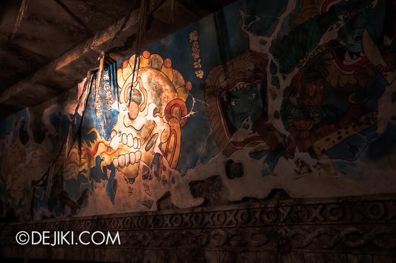 Tokyo DisneySea - Indiana Jones Adventure / Queue - Pyramid Level