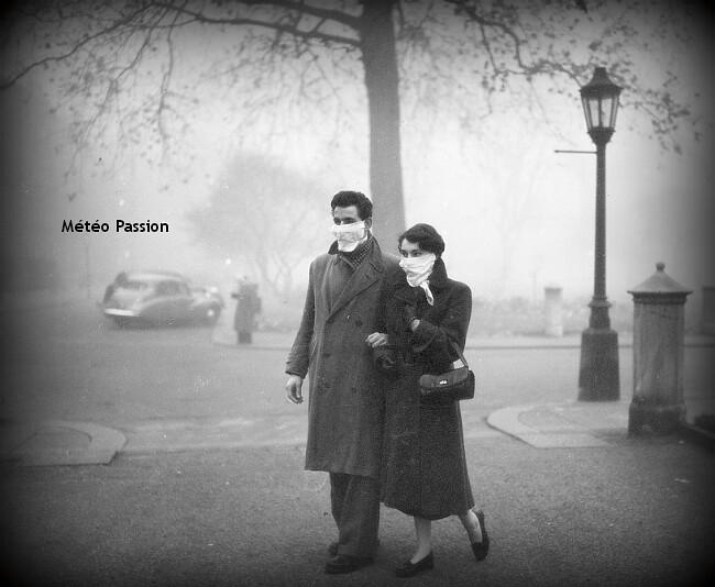 smog meurtrier de Londres en décembre 1952 météopassion