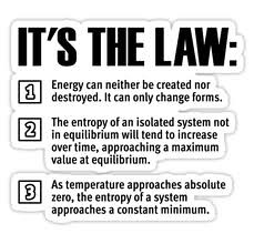 essay on laws of thermodynamics