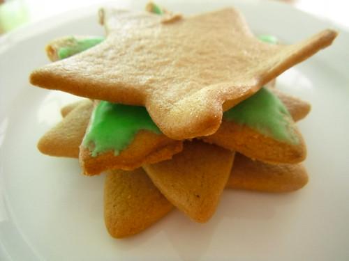 Gingerbread stars!