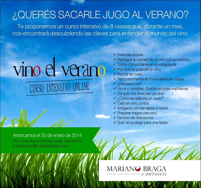 Cursos de vinos online para este verano