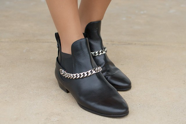 Chain Harness Boots by Geneva Vanderzeil