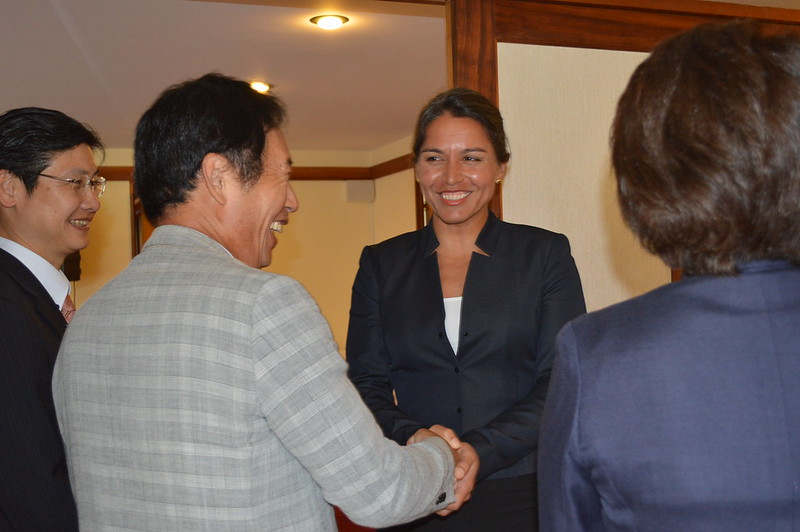 Japanese Diet Visits Congresswoman Tulsi Gabbard at Honolulu Consulate of Japan