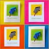 Origami Horse -Card