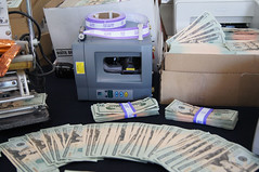 Canadian counterfeiting equipment