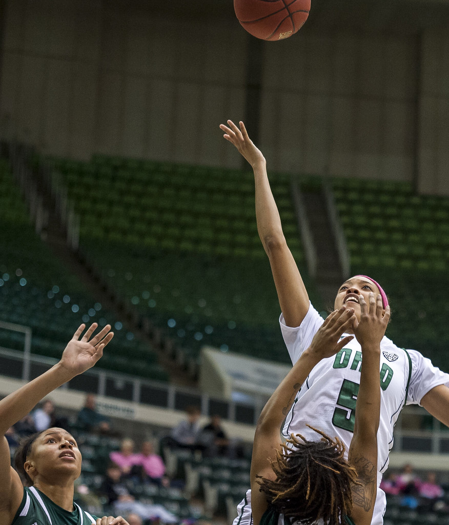 Ohio Bobcats Guard Quiera Lampkins