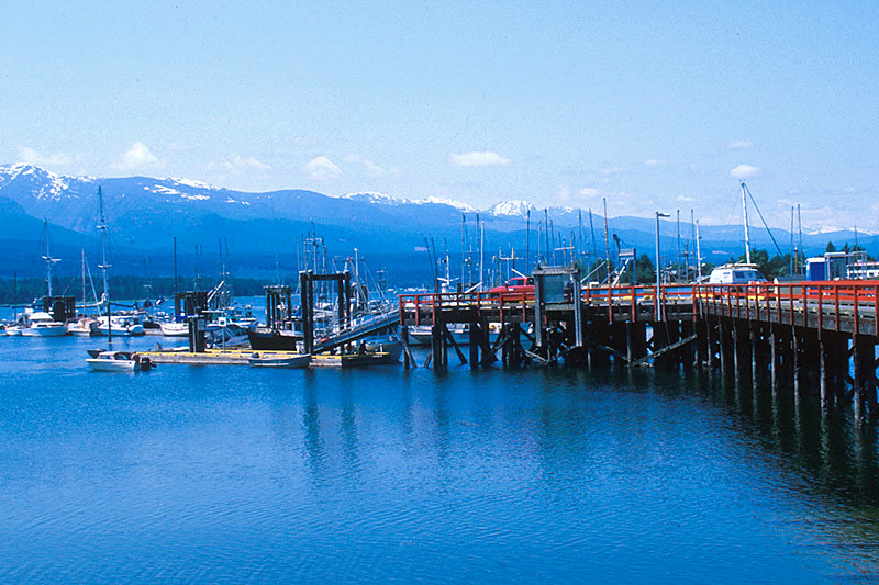 Deep Bay, Lighthouse Country,  Vancouver Island, British Columbia, Canada