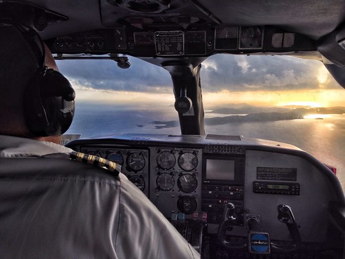Flying to Culebra Island