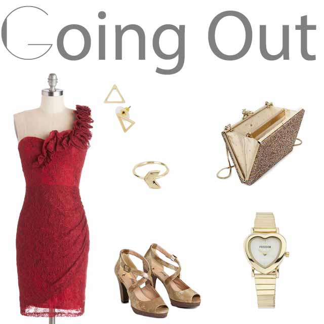 Valentine's Day Outfit: Going Out