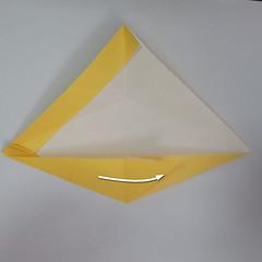 สอนวิธีพับกระดาษเป็นรูปลูกสุนัขยืนสองขา แบบของพอล ฟราสโก้ (Down Boy Dog Origami) 037