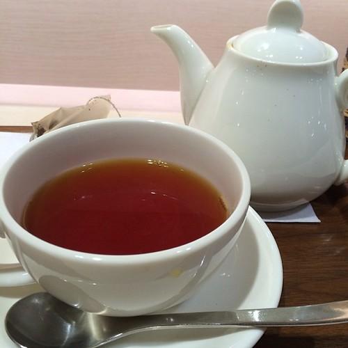 紅茶の飲める店て意外と少ない。