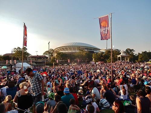 Australia Day Crowd